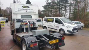 Our Bessie training Vehicle is available to all companies large or small for their driver trainers.